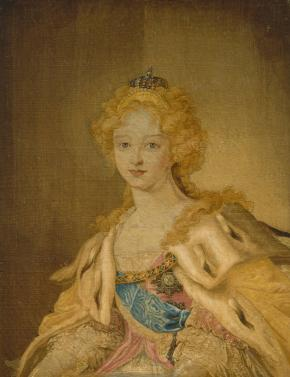 Portrait of Empress Elizabeth Alexeyevna