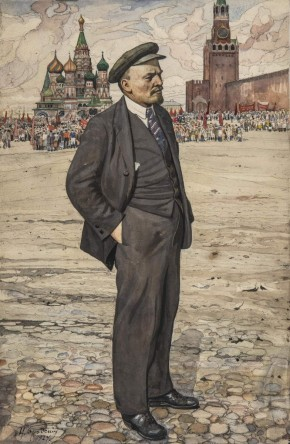 Vladimir Lenin. At the Red Square