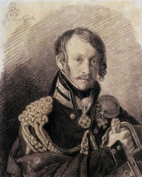 Portrait of Aleksey Lanskoi