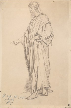Draped Male Figure