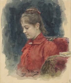 Portrait of Elizaveta Lavrova