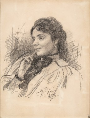 Portrait of Maria Krestovskaya