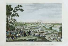 The Entry of the French Army into Moscow on 14 September 1812