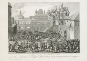 The Entry of the French Army into Moscow 14 September 1812