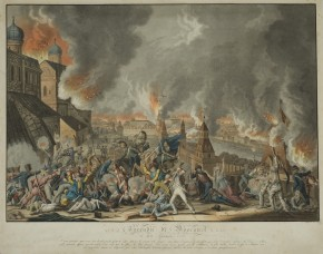The Fire of Moscow on 15 September 1812