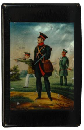 "The snuffbox ""Nikolay Pavlovich on Hunt"""