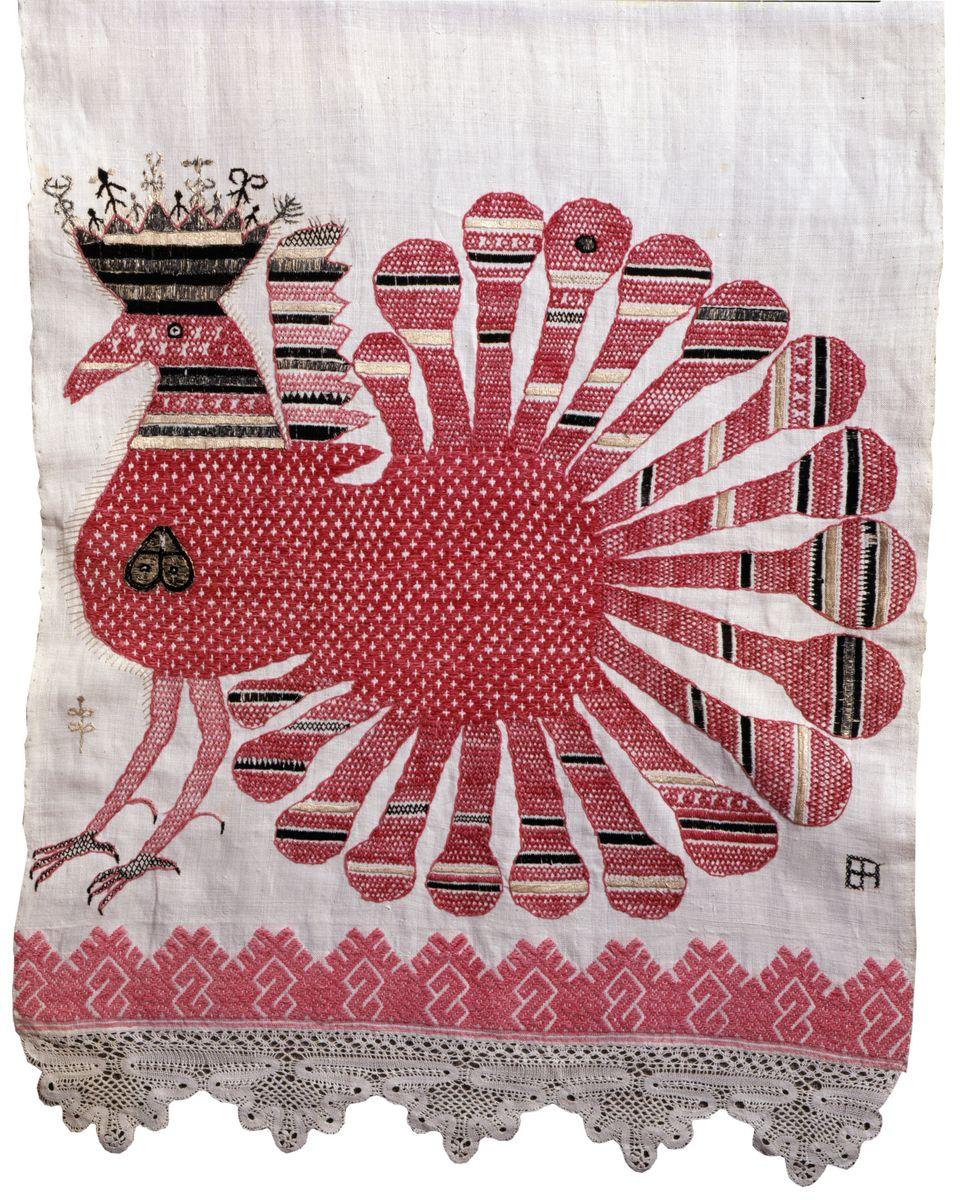 Из истории русской народной вышивки