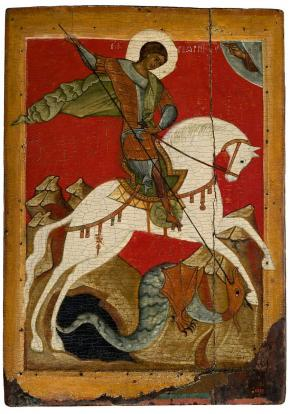 Miracle of St.George and the Dragon
