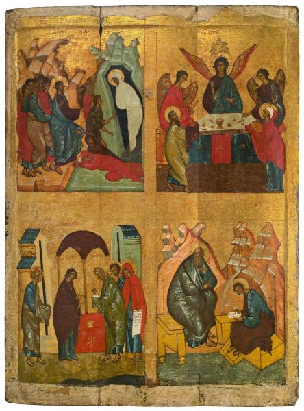 The Raising of Lazarus, The Old Testament Trinity, The