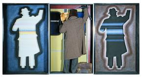 Triptych No 14. Self-Portrait. (Dedicated to My Father)