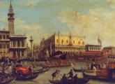 The Marriage of the Doge to Adriatica in Venice