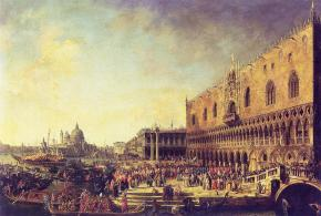The Arrival of the French Embassy to Venice