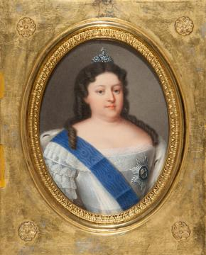 Portrait of Empress Anna I Ioannovna