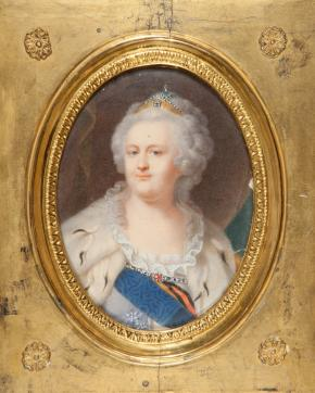 Portrait of Empress Catherine II