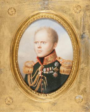 Portrait of Grand Duke Konstantin Pavlovich