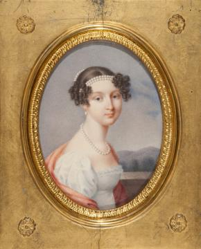 Portrait of Grand Duchess Anna Pavlovna