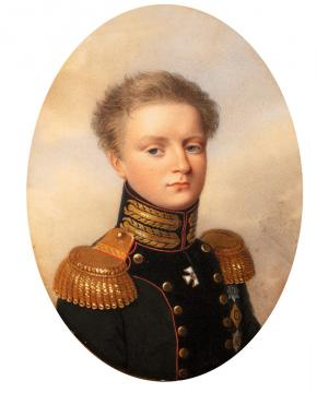 Portrait of Grand Duke Michael Pavlovich
