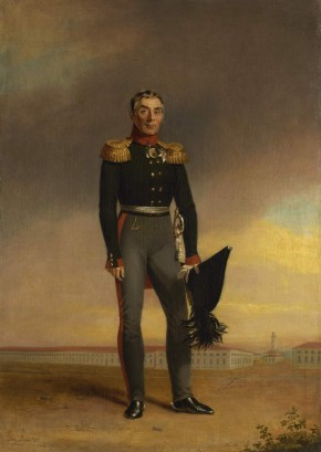 Portrait of the Military Officer and Statesman Count Alexei Arakcheyev