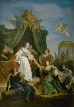 Catherine II's Accession to the Throne