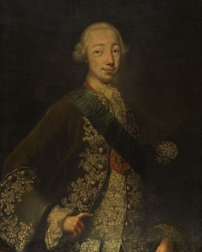 Portrait of the Grand Duke Peter Fyodorovich