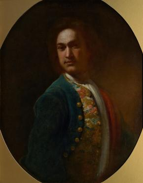 Portrait of a Young Man in a Green Coat