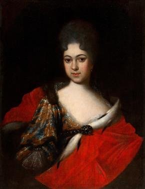 Portrait of the Tsarevna Praskovia Ivanovna
