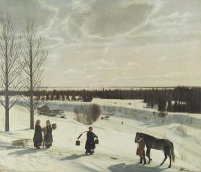 Winter Landscape (Russian Winter)