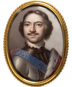 Portrait of Emperor Peter I