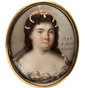 Portrait of Empress Catherine I