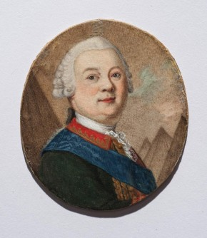 Portrait of Count Piotr Panin