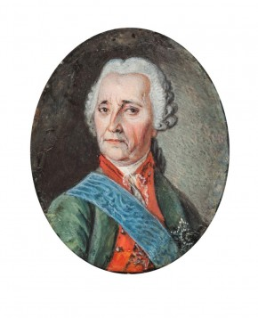 Portrait of Count Munnich