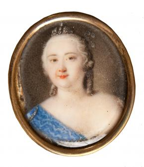 Portrait of Empress Elizabeth I Petrovna