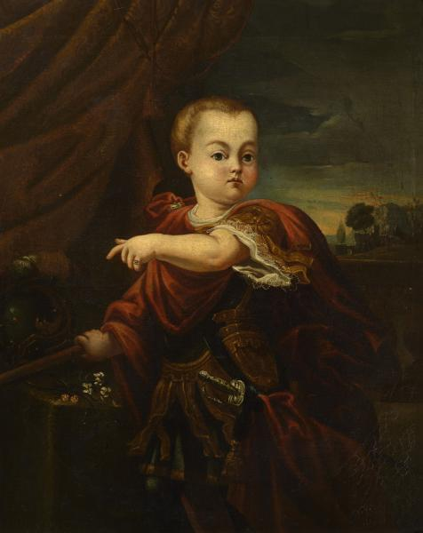 Unknown artist, Portrait of Ivan VI of Russia, 1742, Russian museum, St. Petersburg, Russia.