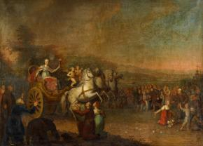 Catherine II's Journey across Russia in 1787