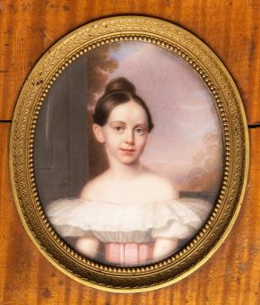 Portrait of Grand Duchess Alexandra Nikolaevna (1825-1844), daughter of Emperor Nicolas I