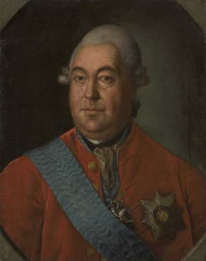 Portrait of the Senator and General-in-Chief Count Roman Vorontsov