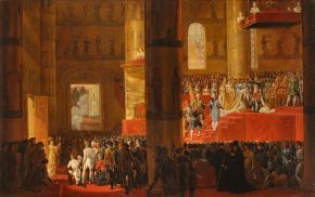 The Coronation of Empress Marie Feodorovna on 5 April 1797