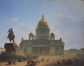St Isaac's Cathedral and the Bronze Horseman