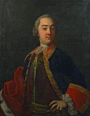 Portrait of the Horse Guards Officer Prince Ivan Lobanov-Rostovsky