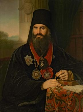 Portrait of Archbishop Mikhail (Mathew Desnitsky)