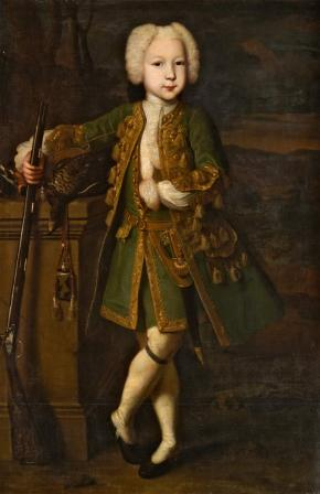 Portrait of a Boy in Hunting Attire