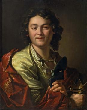 Portrait of the Actor Fyodor Volkov, Founder of the First Russian Public Theatre