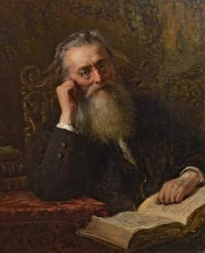 Portrait of the Historian Nikolai Kostomarov