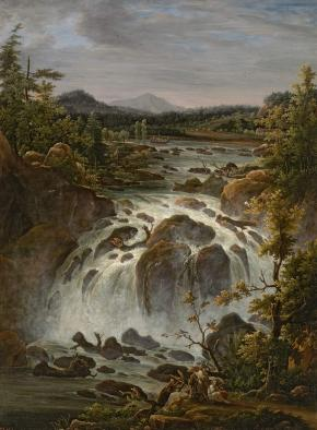 The Imatra Falls in Finland