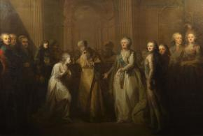 The Anointing of the Grand  Duchess Elizabeth Alexeyevna