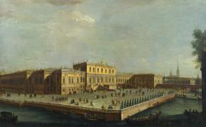The Summer Palace of Elizabeth Petrovna from the Summer Palace in St.Petersburg