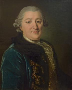Portrait of Count Ivan Orlov, Retired Captain of  the Preobrazhensky Life Guards