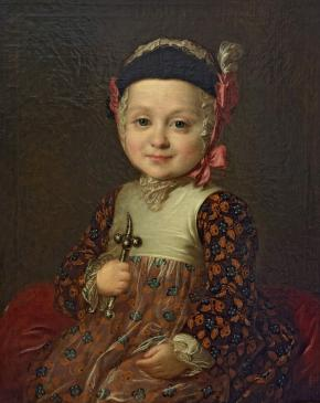 Portrait of Count Alexei Bobrinsky, Illegitimate Son of Catherine II and Count Grigory Orlov, in Childhood