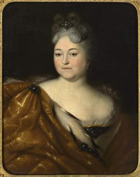 Portrait of the Tsarevna Natalia Alexeyevna, Sister of Peter I