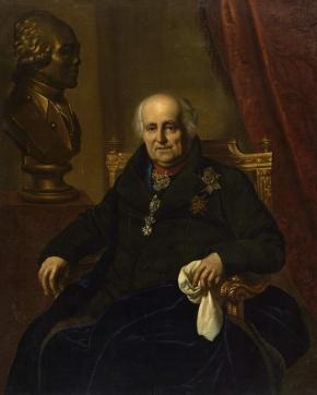 Portrait of Count Grigory Kushelev